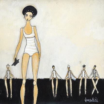 Paola Vergottini Una mujer cinco tiempos 25 x 25 cm