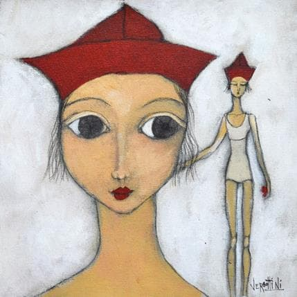 Paola Vergottini Yo 25 x 25 cm