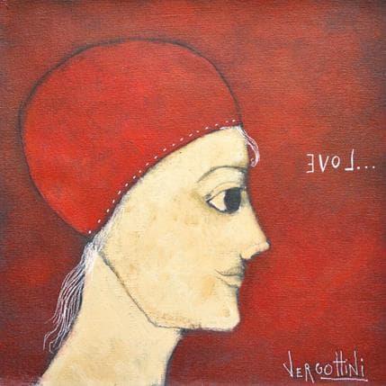 Paola Vergottini Mirando al amor 25 x 25 cm