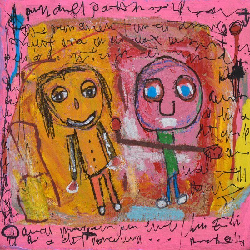 Peintures petit format Art Singulier Technique mixte</h2>
