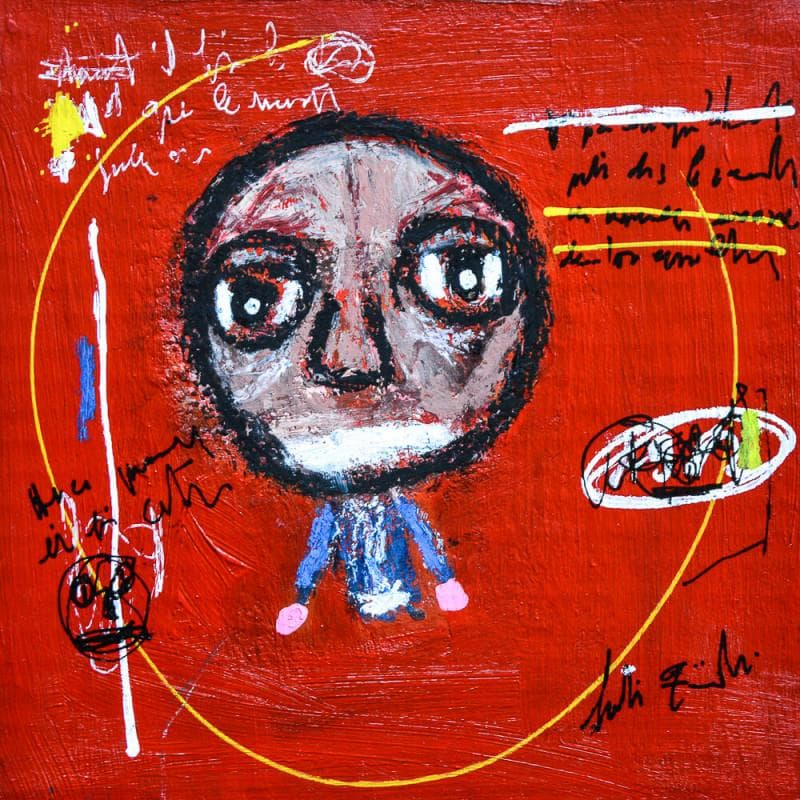 Peintures de portraits Art Singulier Technique mixte</h2>