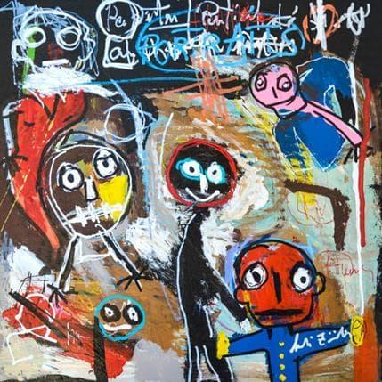 Larbi Zaidi Sans titre 36 x 36 cm