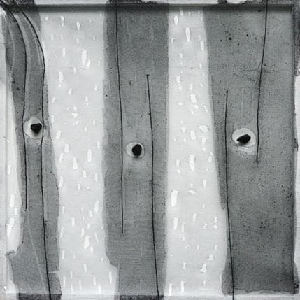 Yasmina Ziyat Sans titre 36 x 36 cm