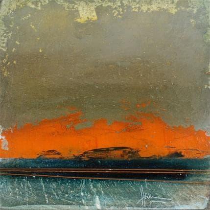 Christian Hévin Abstraction #3958 13 x 13 cm