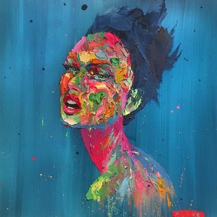 Agusil Blue hair 100 x 100 cm