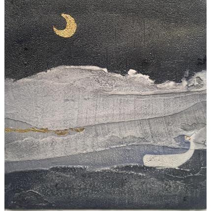 Gaia Roma Vento sulla luna 25 x 25 cm