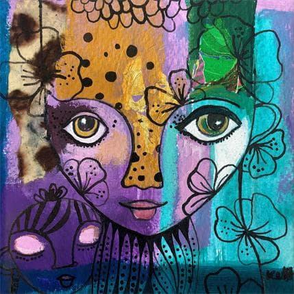 Laure Ketfa A COEUR DE FLEURS 13 x 13 cm