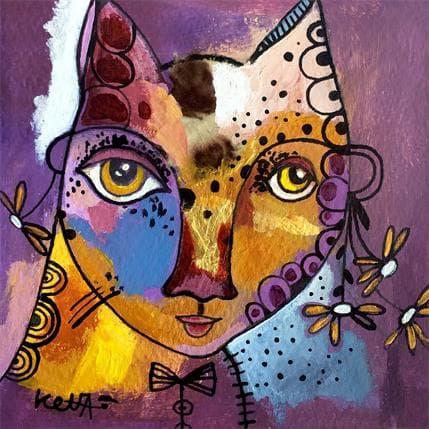 Laure Ketfa MON PETIT CHAT 13 x 13 cm
