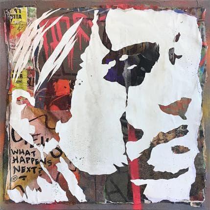 Cyen What happens next - Barcelone 50 x 50 cm