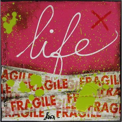 Sophie Costa Fragile Life 13 x 13 cm