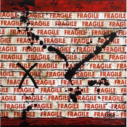 Sophie Costa Fragile Life 80 x 80 cm