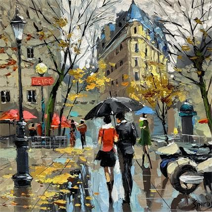 Dmitry Spiros October 36 x 36 cm