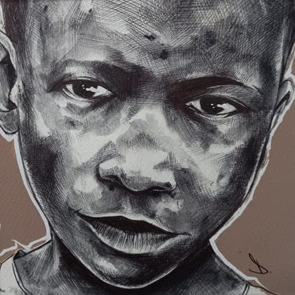 Deuz African children 19 x 19 cm
