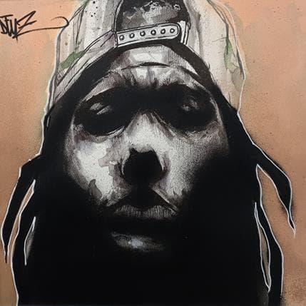 Deuz Hip hop rasta 36 x 36 cm