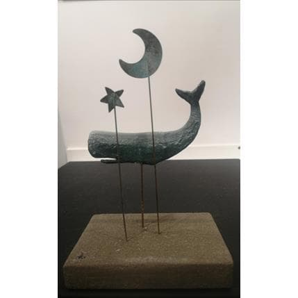 Gaia Roma Le balene 11,5 x 8 x 18 cm