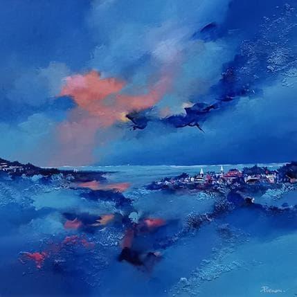 Cyril Pienon Blue world 36 x 36 cm