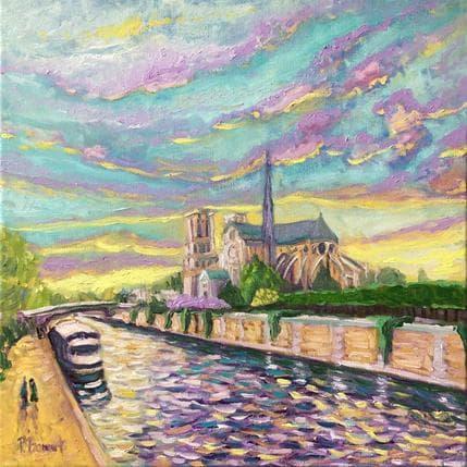 P.Bonart Paris, rive gauche 50 x 50 cm
