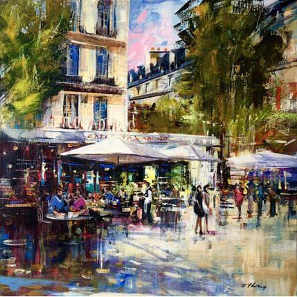 Frédéric Thiéry Café Trocadéro 80 x 80 cm