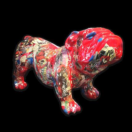 Fabien Novarino Red Bull 60 x 37 x 28 cm