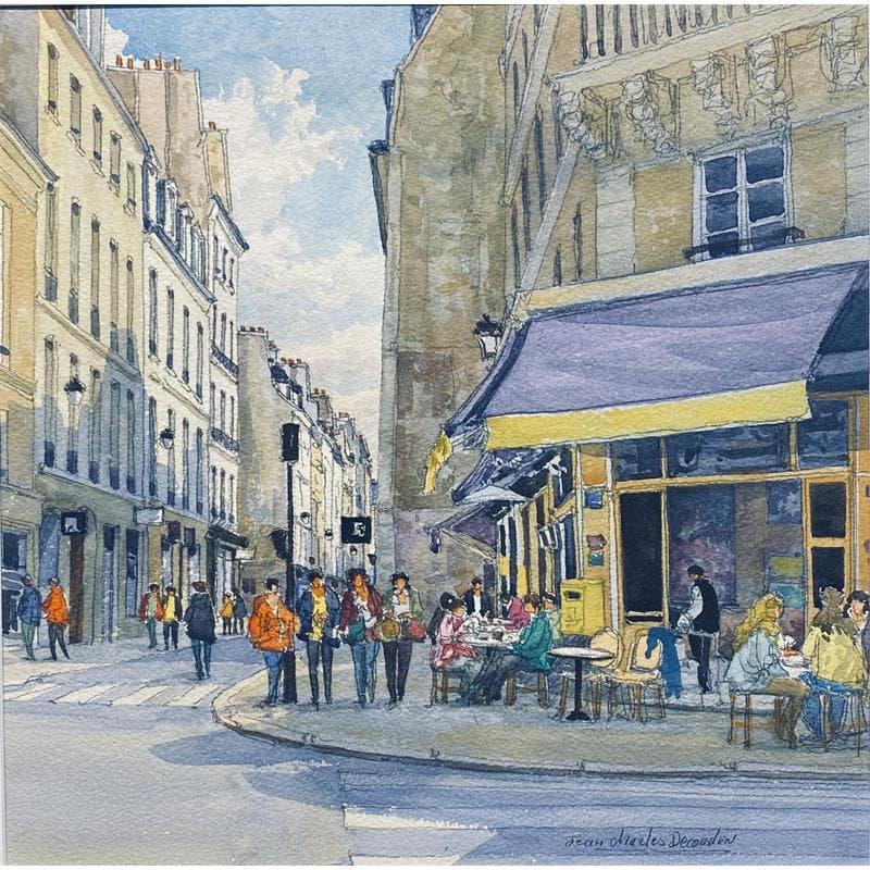 Paris, le Marais, la rue Vieille du Temple