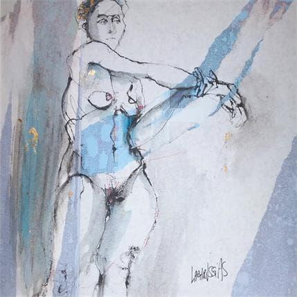 Corinne Labarussias Charlotte soutient son bras 36 x 36 cm