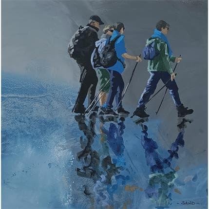Sand Atlantique sport club d'hiver 19 x 19 cm