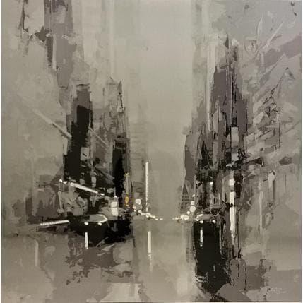 Daniel Castan Black/White 42 street 100 x 100 cm