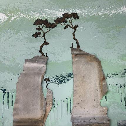 François-Régis Lemonnier Le lien unique    N.2722 50 x 50 cm
