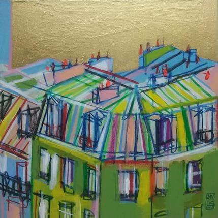Olivier Anicet La lumière se redresse 19 x 19 cm
