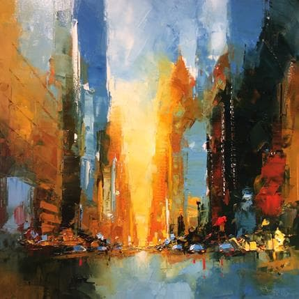 Castan Daniel New York Crepuscule 100 x 100 cm