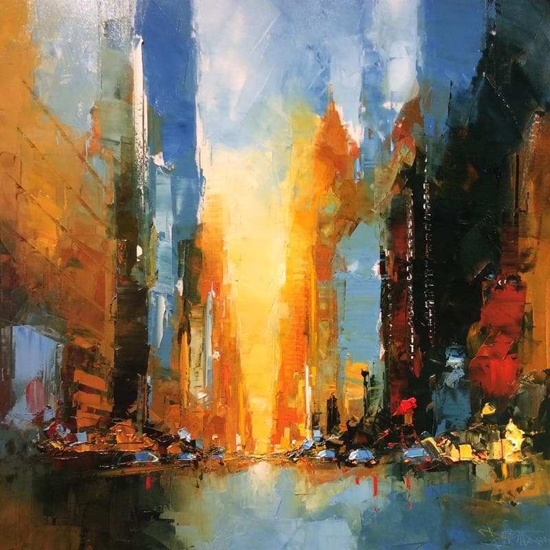 New York Crepuscule