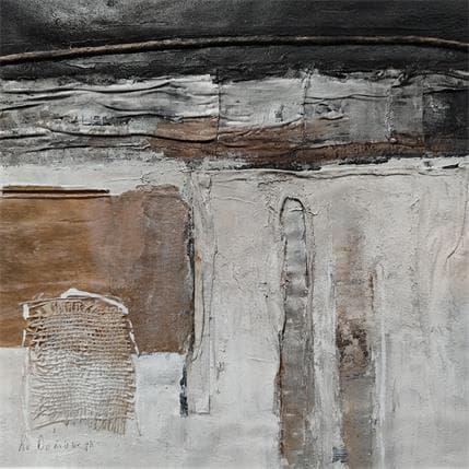 Lydia Van Domburgh Sans titre D6 36 x 36 cm