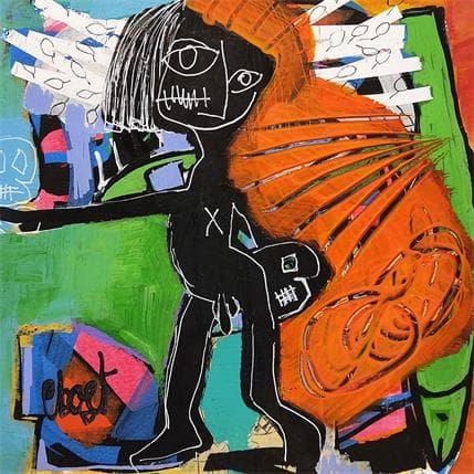 C.BOST Le jongleur 19 x 19 cm