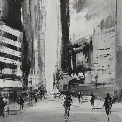 Richard Poumelin Black and white 19 x 19 cm