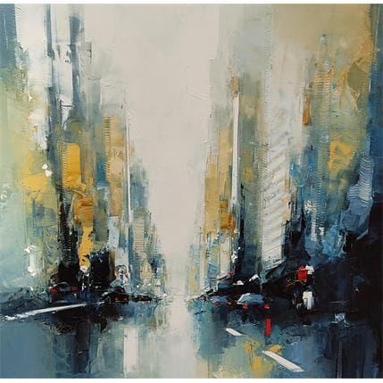 Castan Daniel STARRET CITY 80 x 80 cm