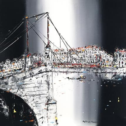Patrick Rousseau Des eaux sereines 50 x 50 cm