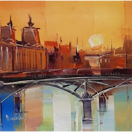 Anna Salenko Parisian sunset 19 x 19 cm