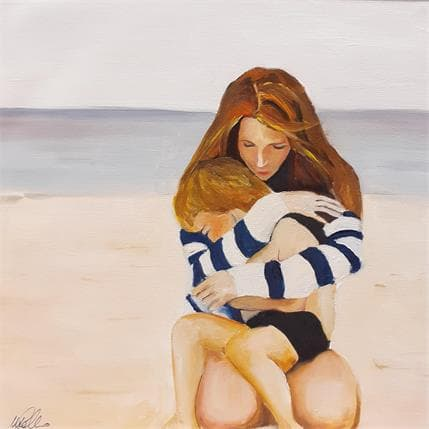 Manuela Gallo Sand hua 25 x 25 cm