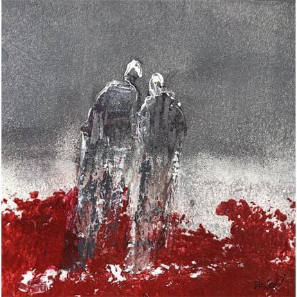 Odile Escolier PULSATION D'AMOUR 19 x 19 cm