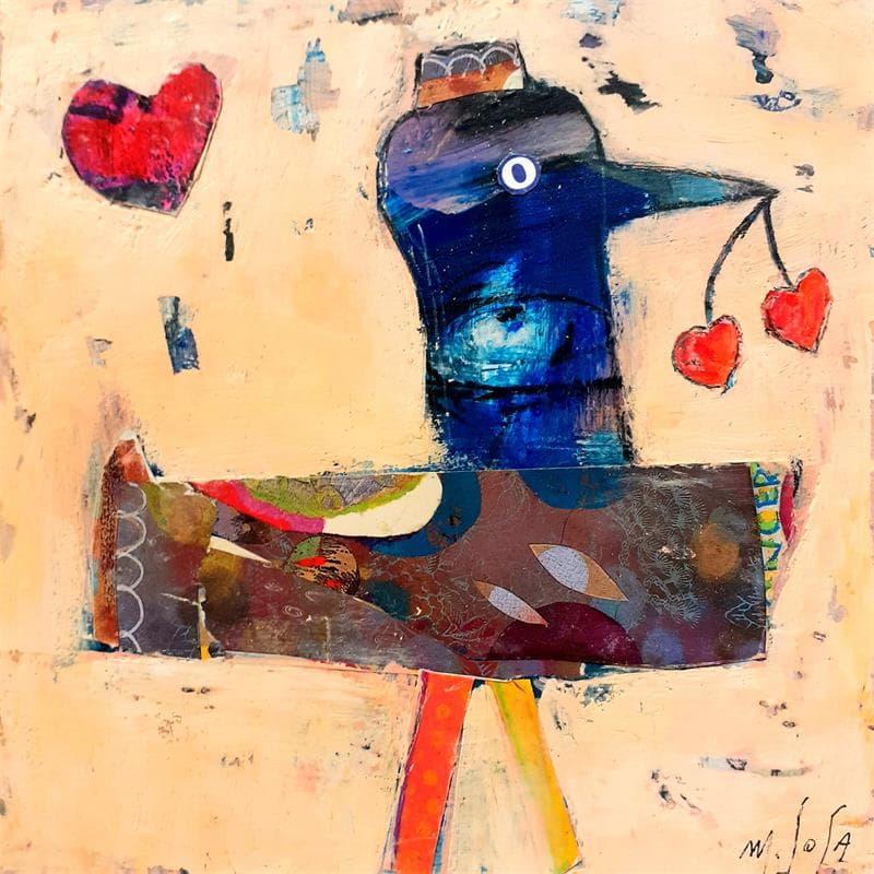 L'oiseau à coeur
