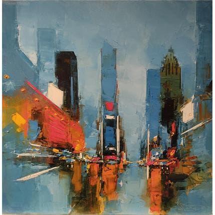 Daniel Castan Times Square 60 x 60 cm