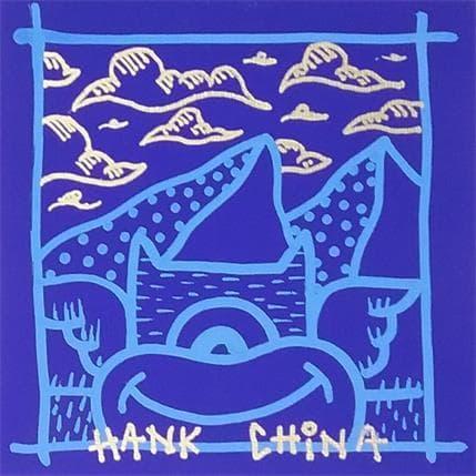 Hank China Blue mountain 13 x 13 cm