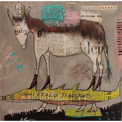 Sylvie Colin Ekolo Transport #2 25 x 25 cm