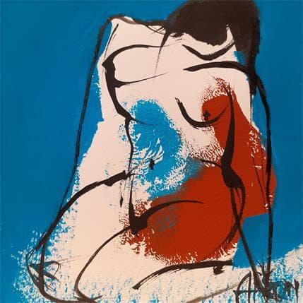 Martine Chaperon Outremer 2 13 x 13 cm