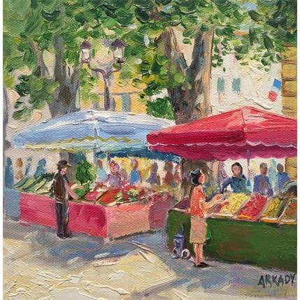 Arkady Le marché 19 x 19 cm