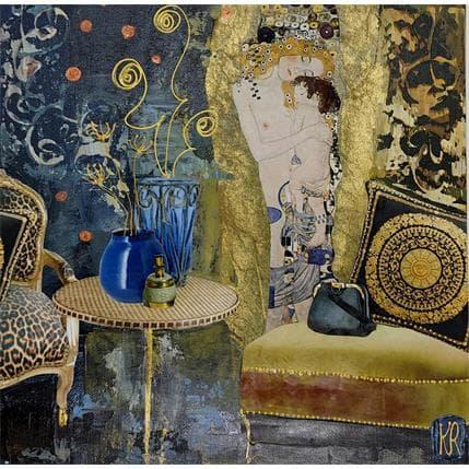 Karine Romanelli Temps calme 25 x 25 cm