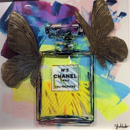 SHOKKOBO Gold Chanel 80 x 82 cm
