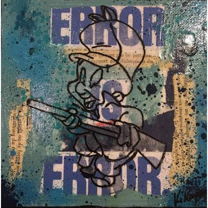 Kikayou Elmer fudd 13 x 13 cm