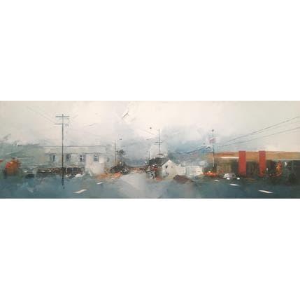 Castan Daniel Sur la route 66 120 x 40 cm
