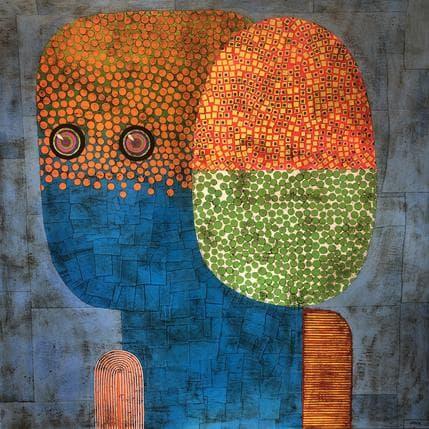 Gustavo Ortiz Natural soul 2 100 x 100 cm